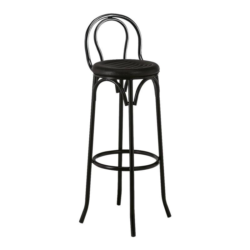 Taburete alicante con respaldo venta de mobiliario para hosteler a y hogar - Taburete con respaldo ...