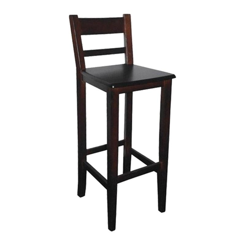 taburete de madera SEVILLA ref. 521