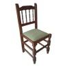 alt= silla de madera BOLILLOS ref. 120