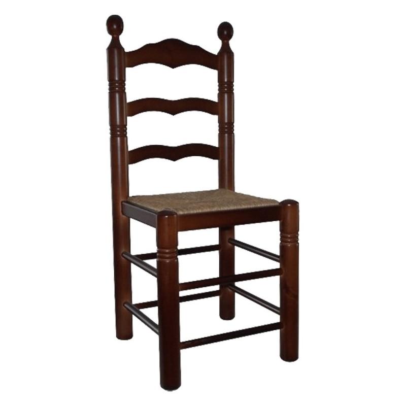 alt= silla de madera MANCHEGA ref. 188