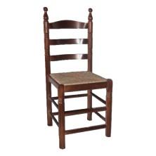 silla de madera COLONIAL CURVADA ref. 190