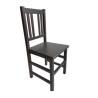 alt= silla VITORIA madera