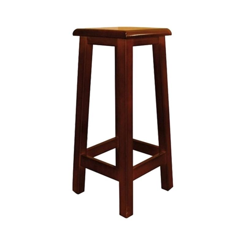 alt= taburete de madera GINETA