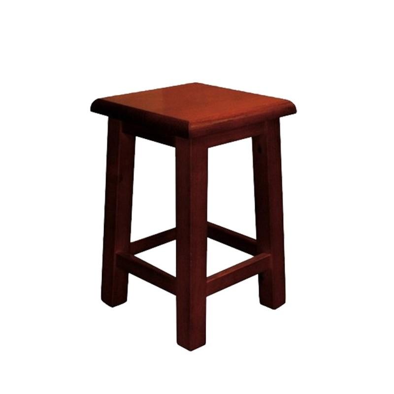 Taburete bajo de madera GINETA Ref. 261