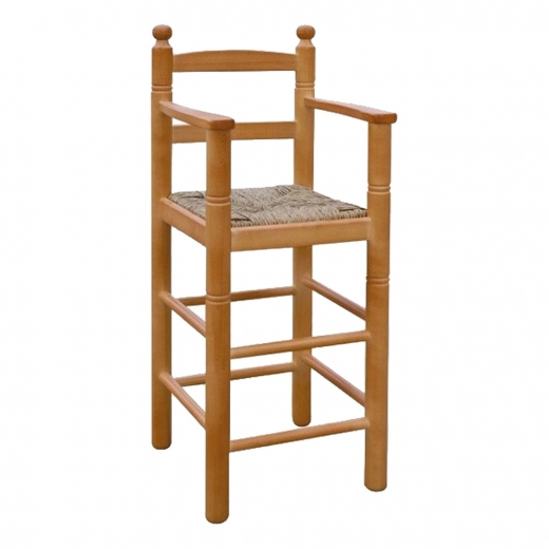 192 taburete infantil de madera TRONO
