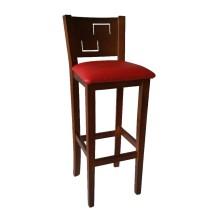 taburete de madera CARTAGENA Ref. 541