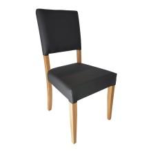 silla de madera tapizada BANÚS ref. 652