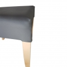alt= silla de madera tapizada BANÚS ref. 652