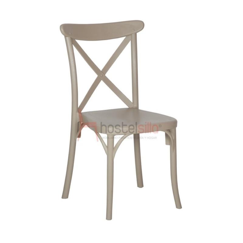 silla REINA de plástico Sillas para interior y exterior en restaurante, bar y cafetería