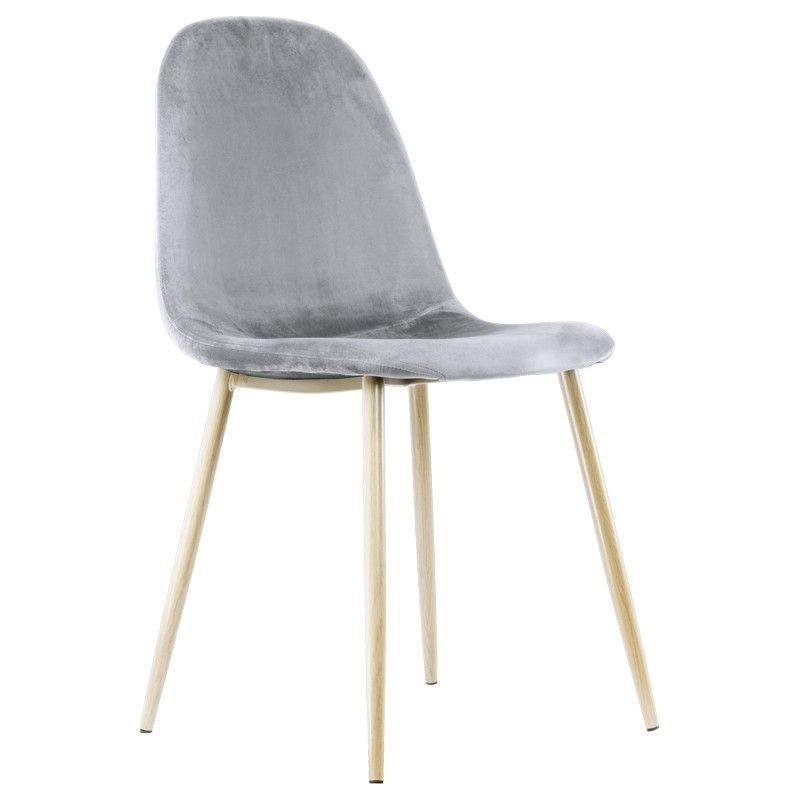 silla nórdica SANSA terciopelo