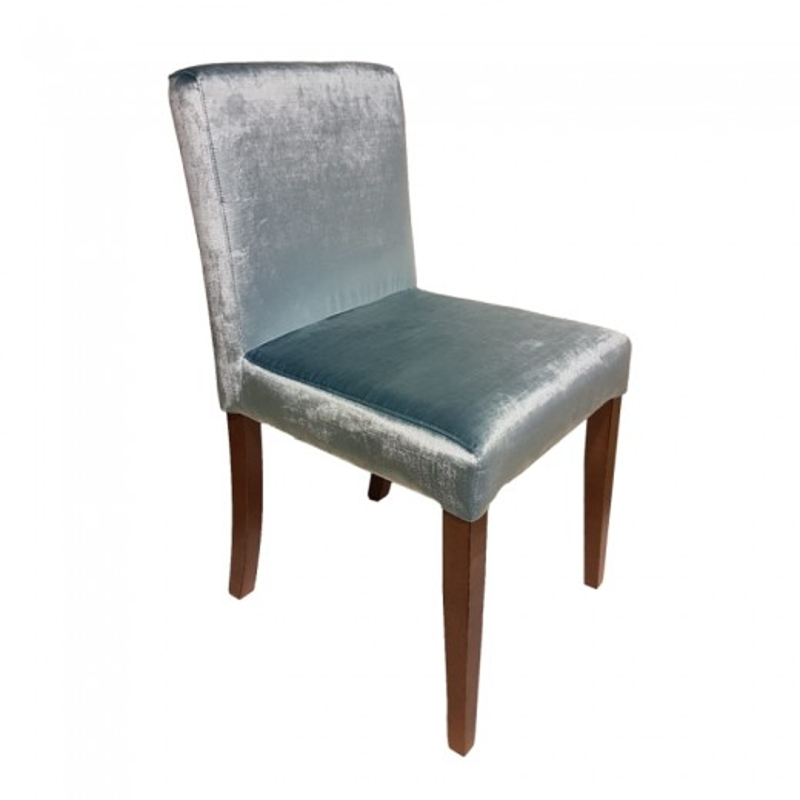 silla de madera tapizada ALICANTE BAJA ref. 652