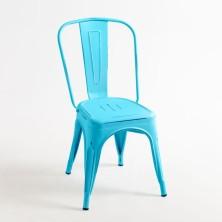 alt= silla Tolix envejecida